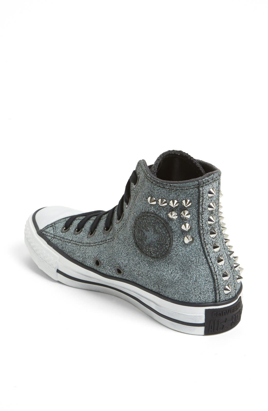 Alternate Image 2  - Converse Chuck Taylor® All Star® 'Collar Studs' High Top Sneaker (Women)