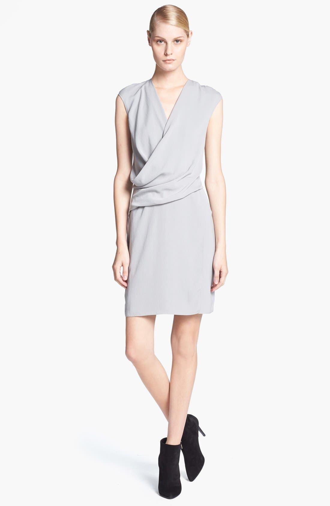 Alternate Image 1 Selected - HELMUT Helmut Lang 'Nexa' Overlap Dress