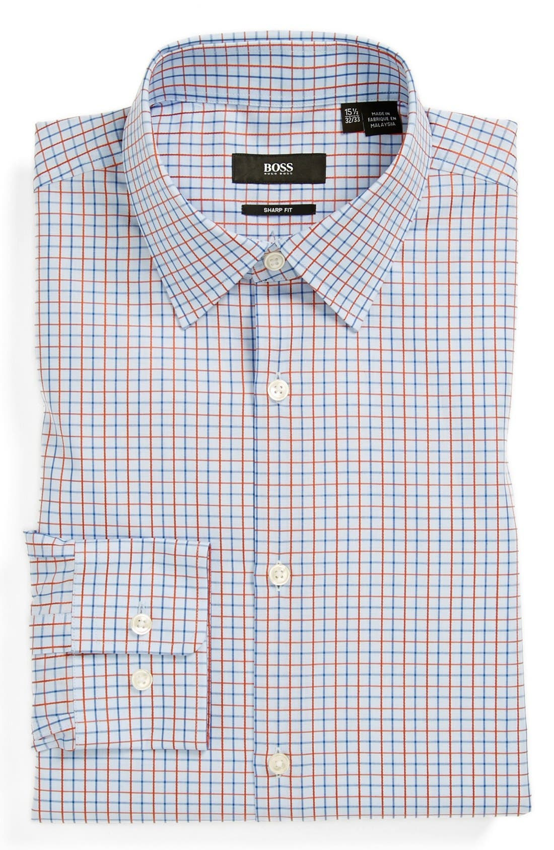 Main Image - BOSS HUGO BOSS 'Marlow' Sharp Fit Dress Shirt
