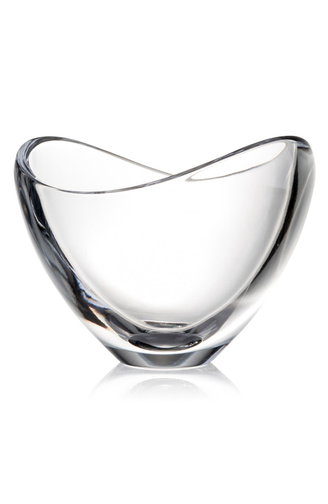 Alternate Image 1 Selected - Nambé 'Butterfly' Full-Lead Crystal Bowl, Small