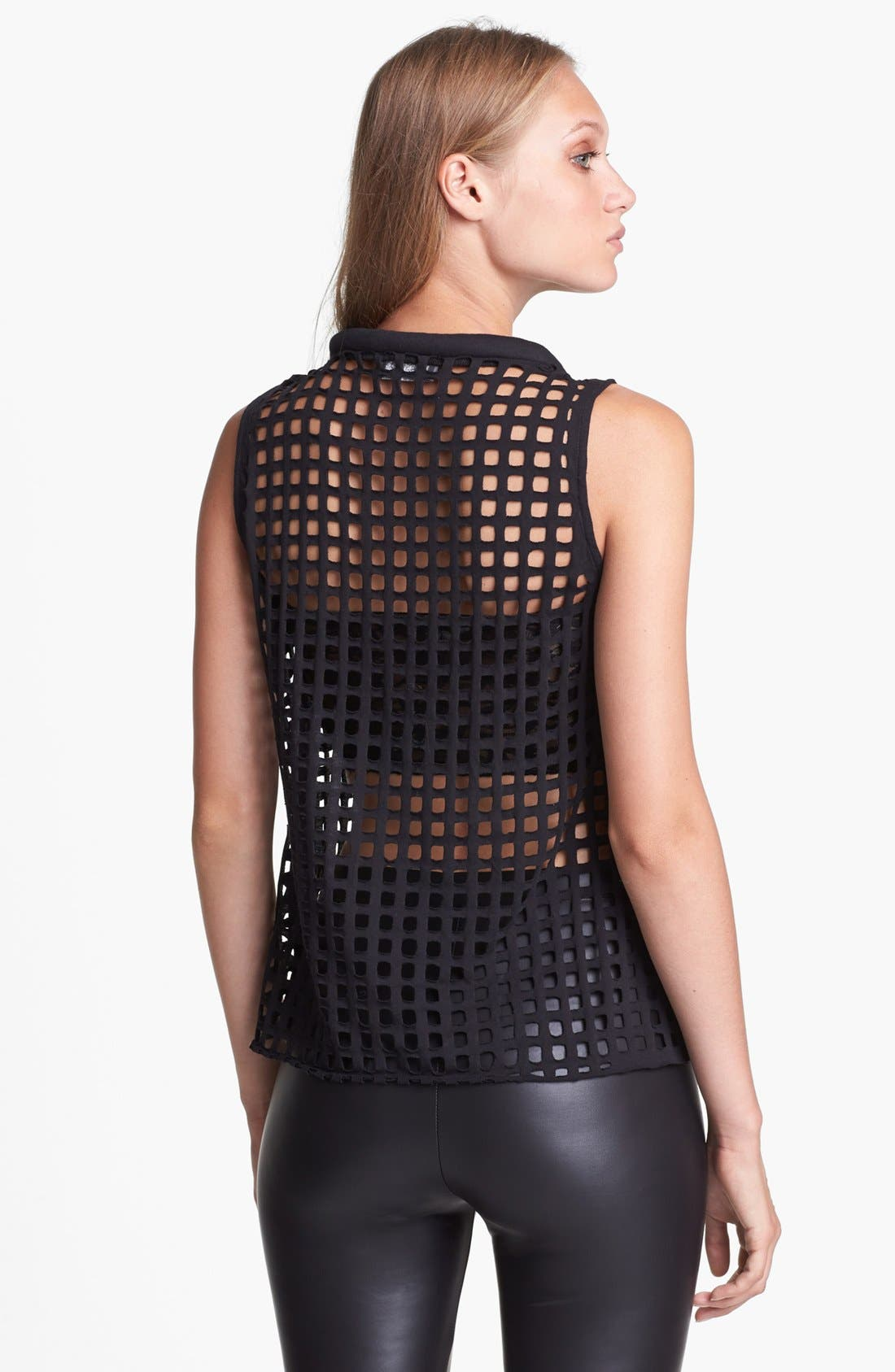 Alternate Image 2  - ASTR Caged Sleeveless Top