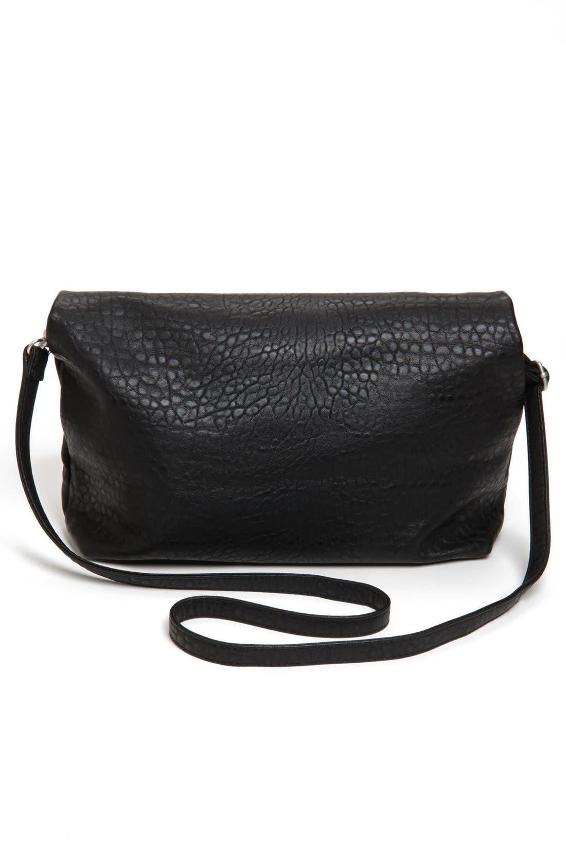 Alternate Image 4  - Street Level Foldover Crossbody Bag (Juniors) (Online Only)
