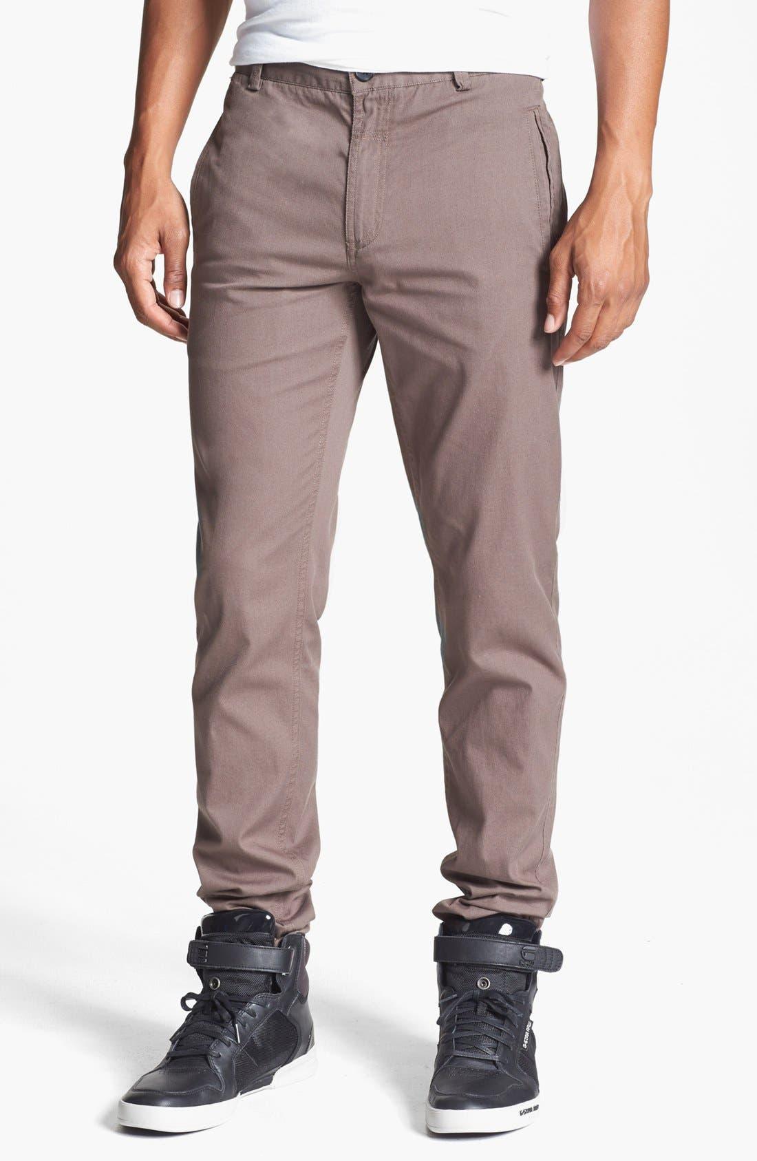 Alternate Image 1 Selected - adidas SLVR Slim Pants