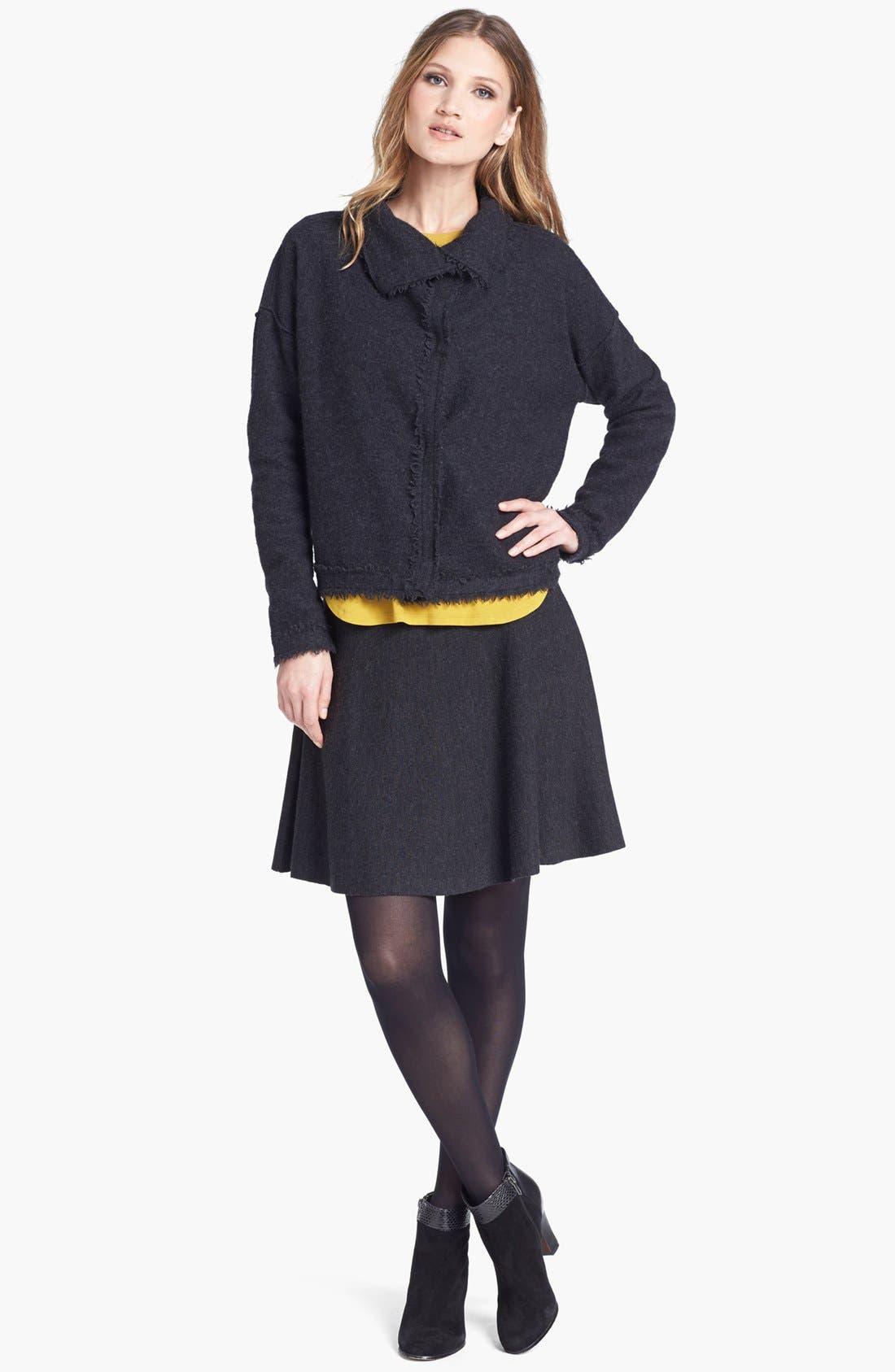 Alternate Image 4  - Eileen Fisher Boiled Wool Jacket