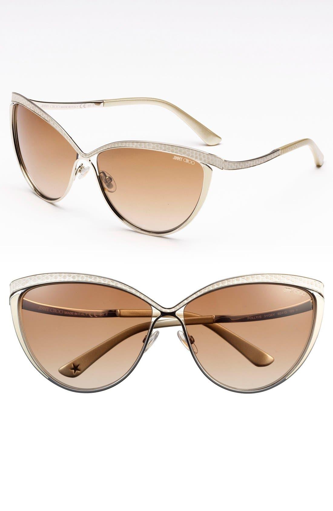 Main Image - Jimmy Choo 60mm Retro Sunglasses