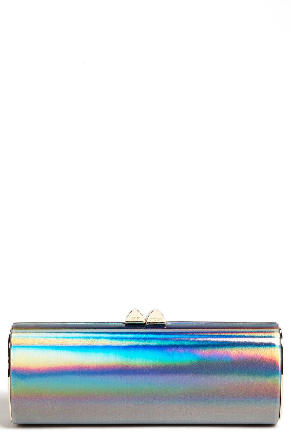 Alternate Image 1 Selected - Jimmy Choo 'Charm - Disco Mirror' Clutch
