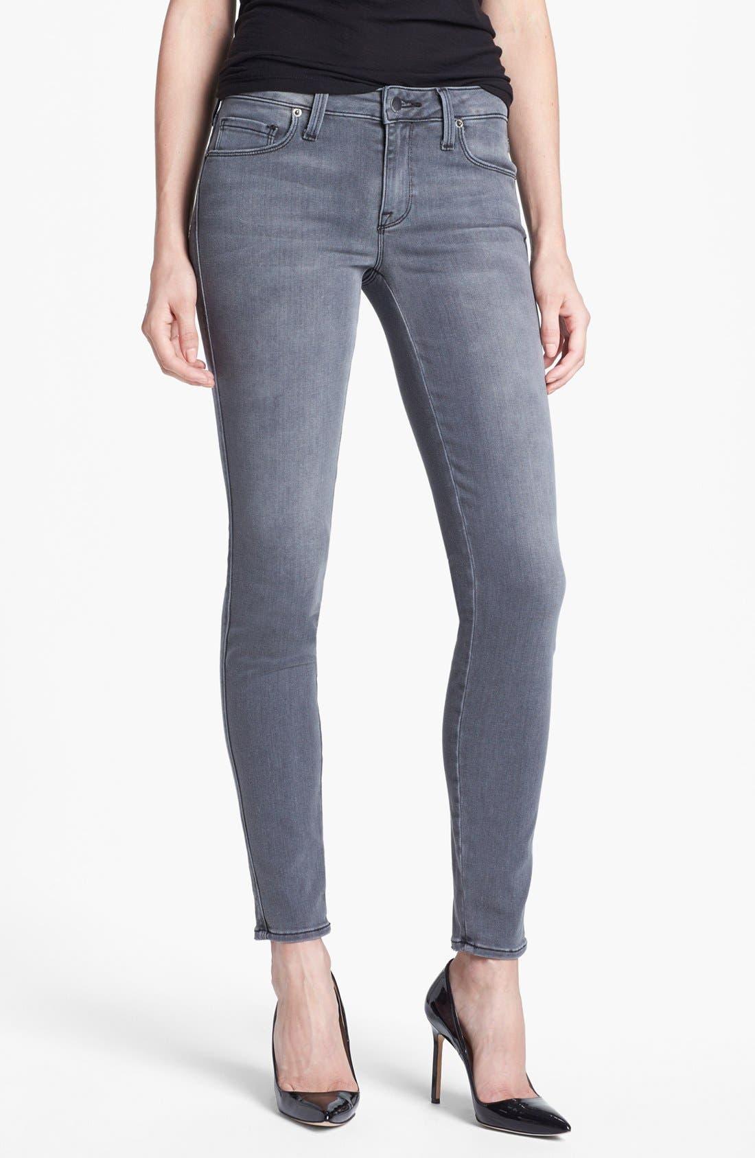 Main Image - Genetic 'Shya' Cigarette Skinny Jeans (Gaze)