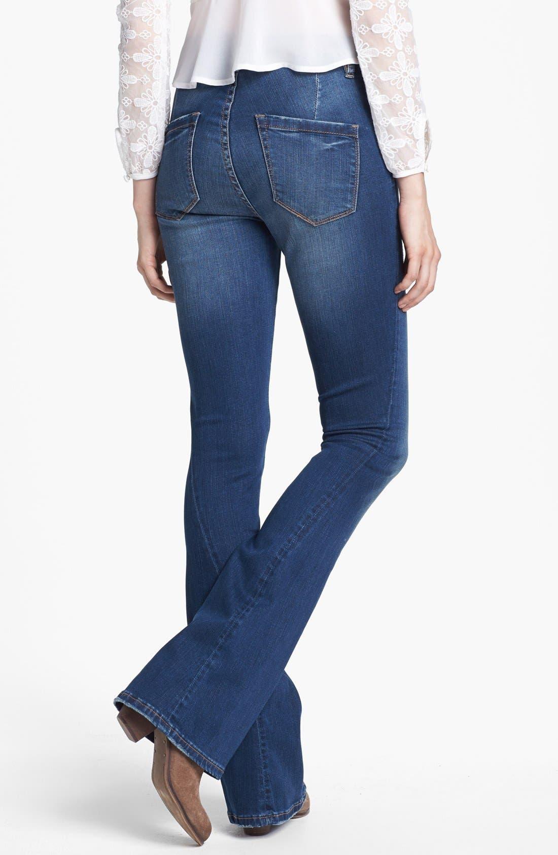 Alternate Image 2  - BLANKNYC 'Short Stack' Flare Leg Jeans