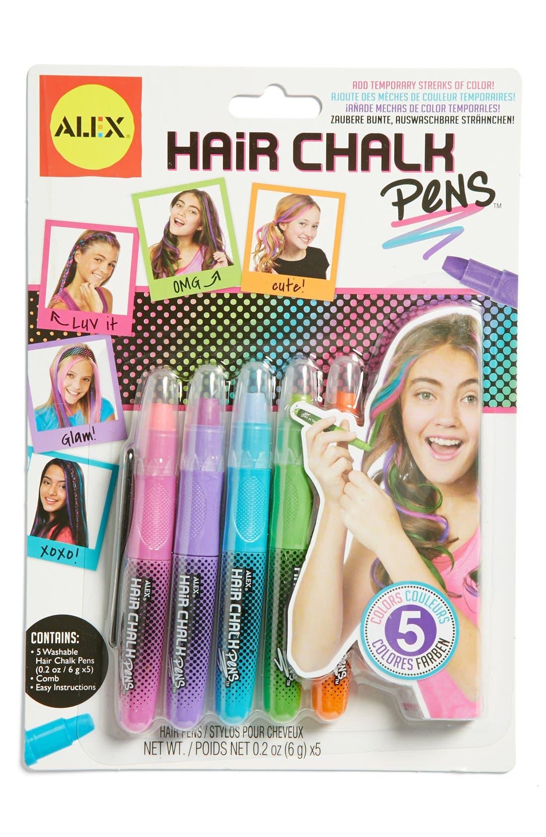 Alternate Image 1 Selected - Alex® Toys Hair Chalk Pens (Set of 5)