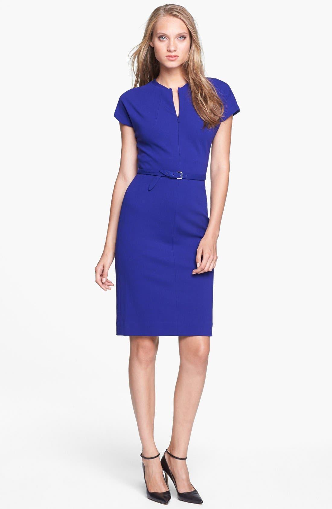 Alternate Image 1 Selected - Diane von Furstenberg 'Maizah' Twill Sheath Dress