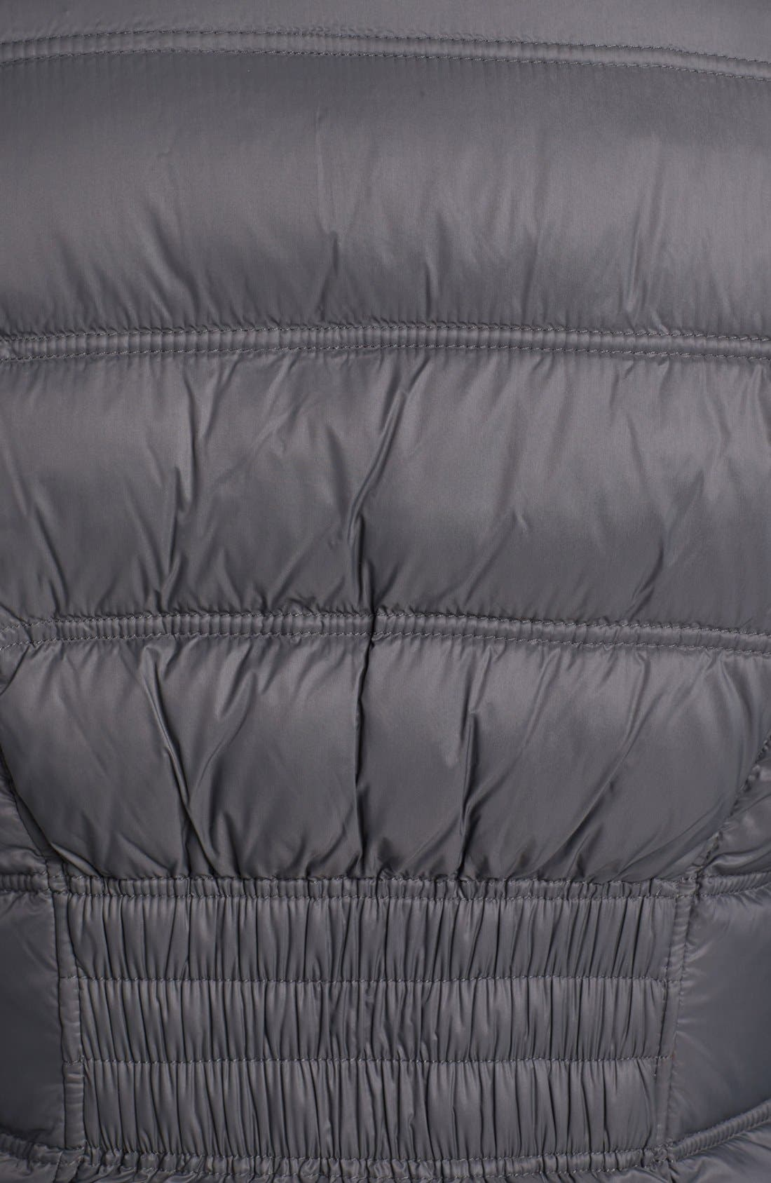 Alternate Image 4  - MICHAEL Michael Kors Packable Down Jacket with Detachable Hood (Petite) (Online Only)
