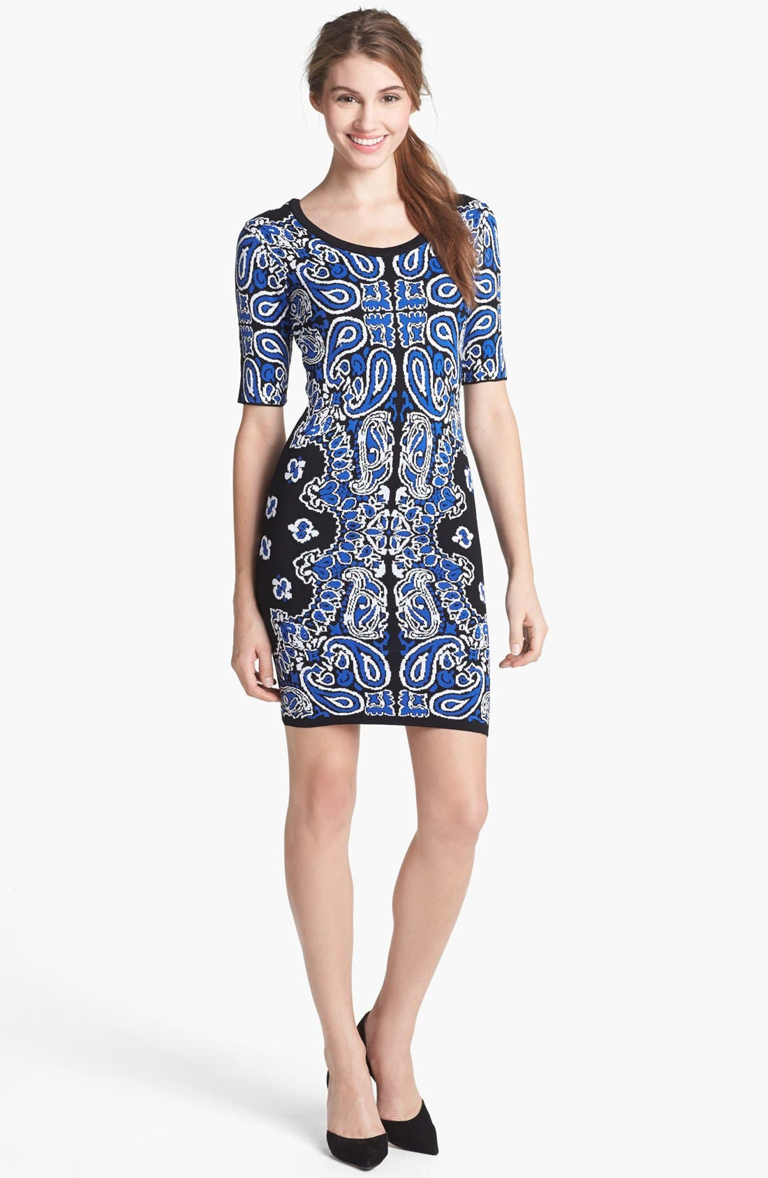 Main Image - Felicity & Coco Body-Con Sweater Dress (Nordstrom Exclusive)