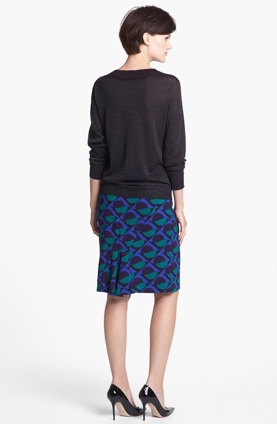 Alternate Image 5  - MARC BY MARC JACOBS 'Etta' Print Pencil Skirt
