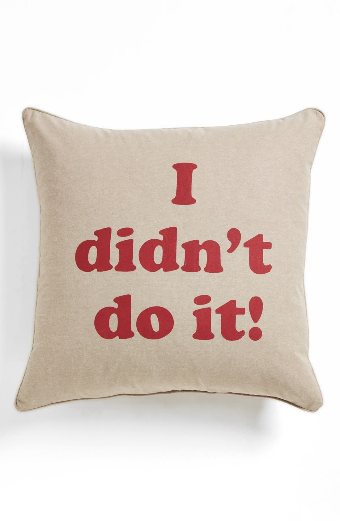 Alternate Image 1 Selected - Levtex 'I Didn't Do It' Pillow