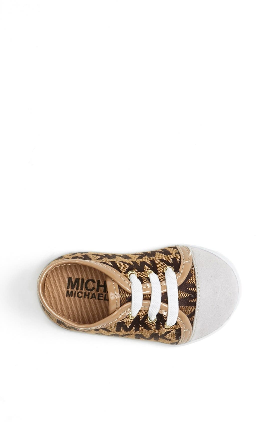 Alternate Image 3  - MICHAEL Michael Kors 'Baby Monogram' Crib Shoe (Baby)