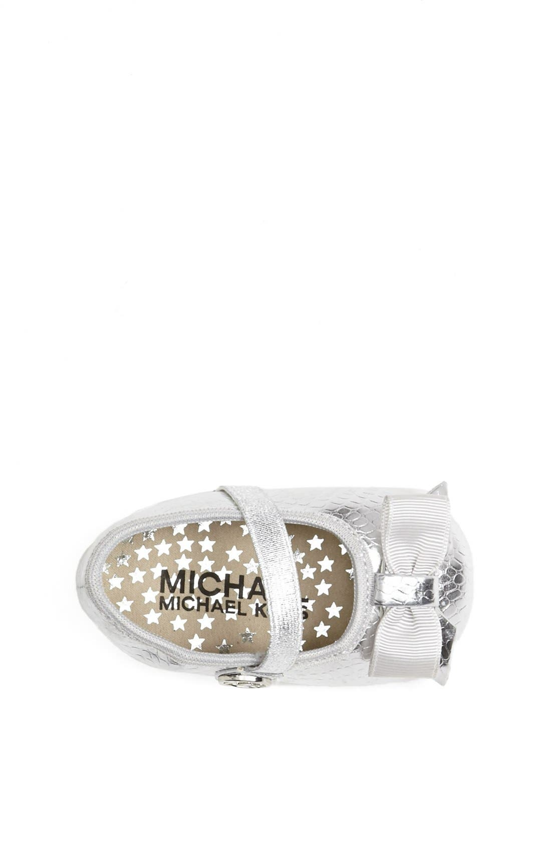 Alternate Image 3  - MICHAEL Michael Kors 'Grace' Crib Shoe (Baby)