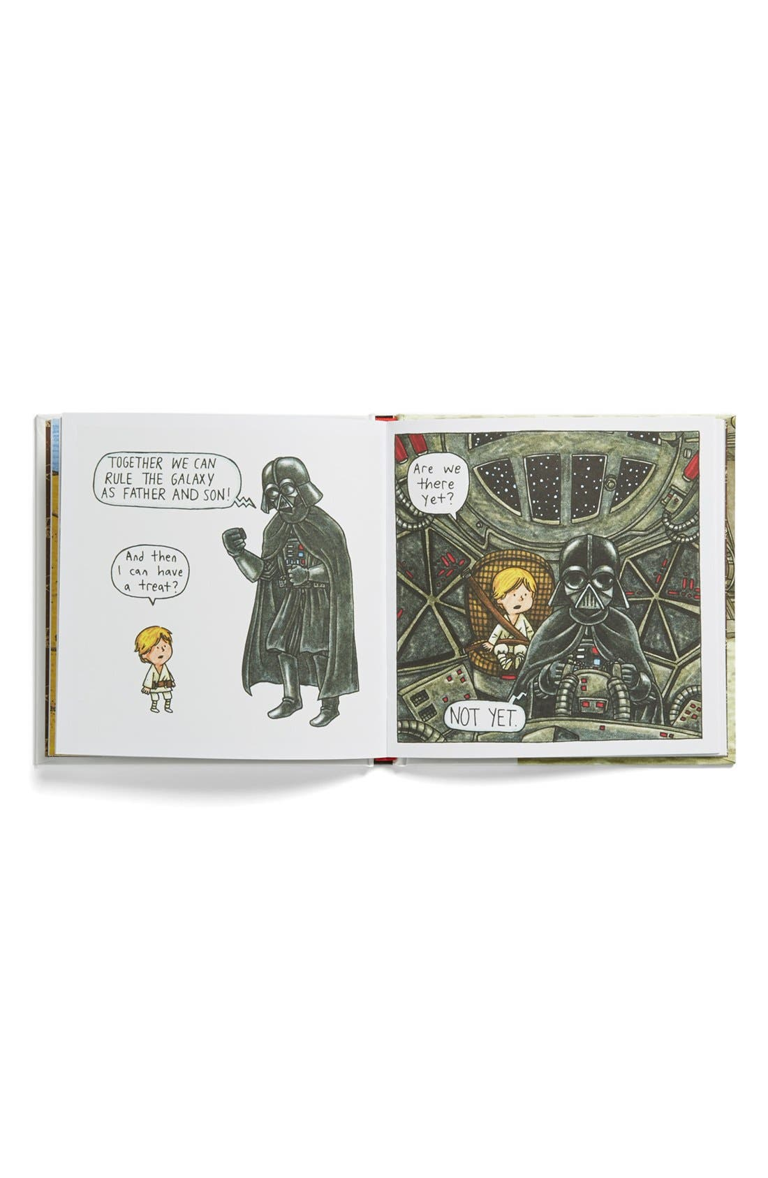 Alternate Image 2  - 'Darth Vader and Son' Book