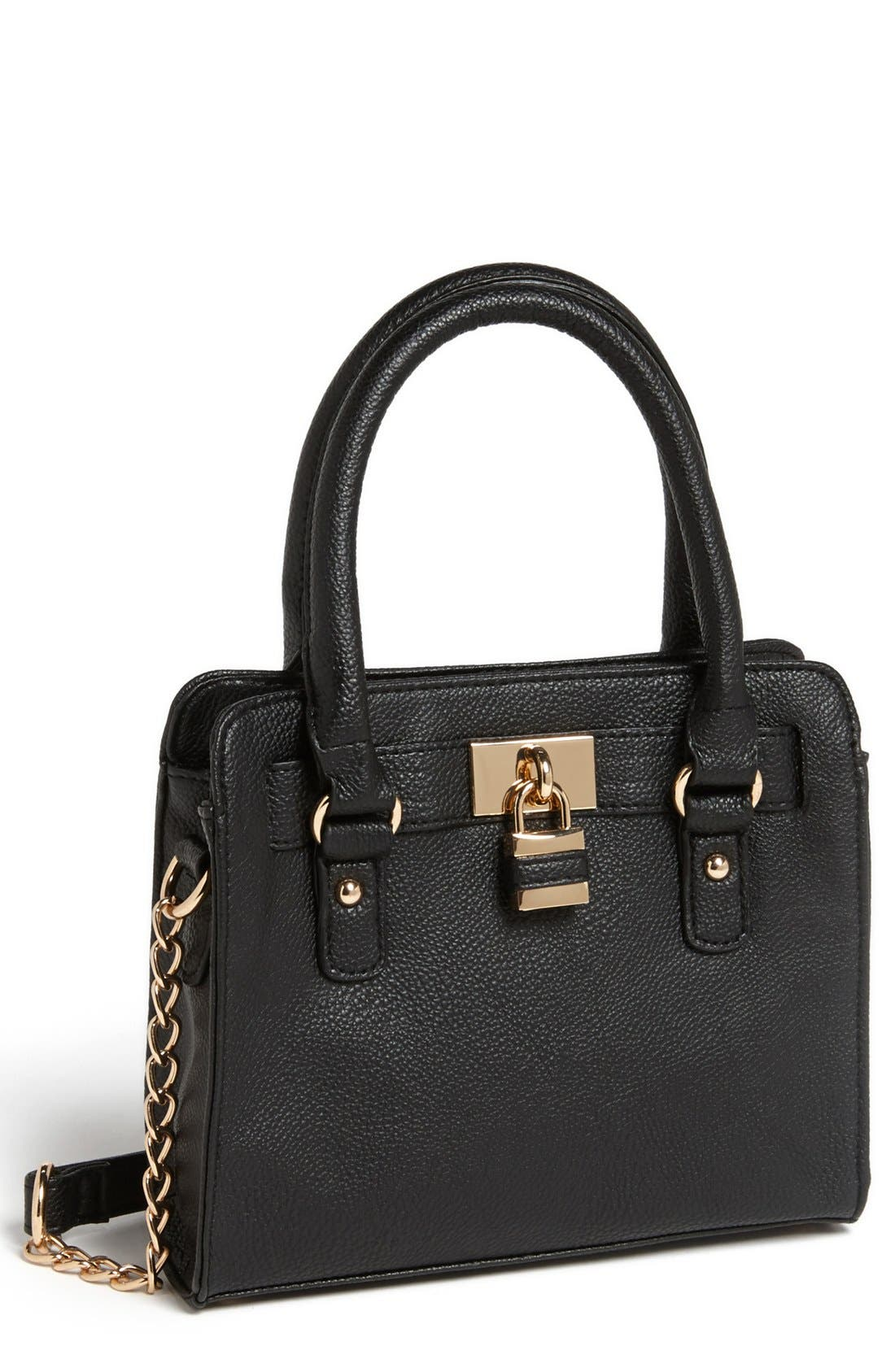 Main Image - BP. Faux Leather Crossbody Bag (Juniors)