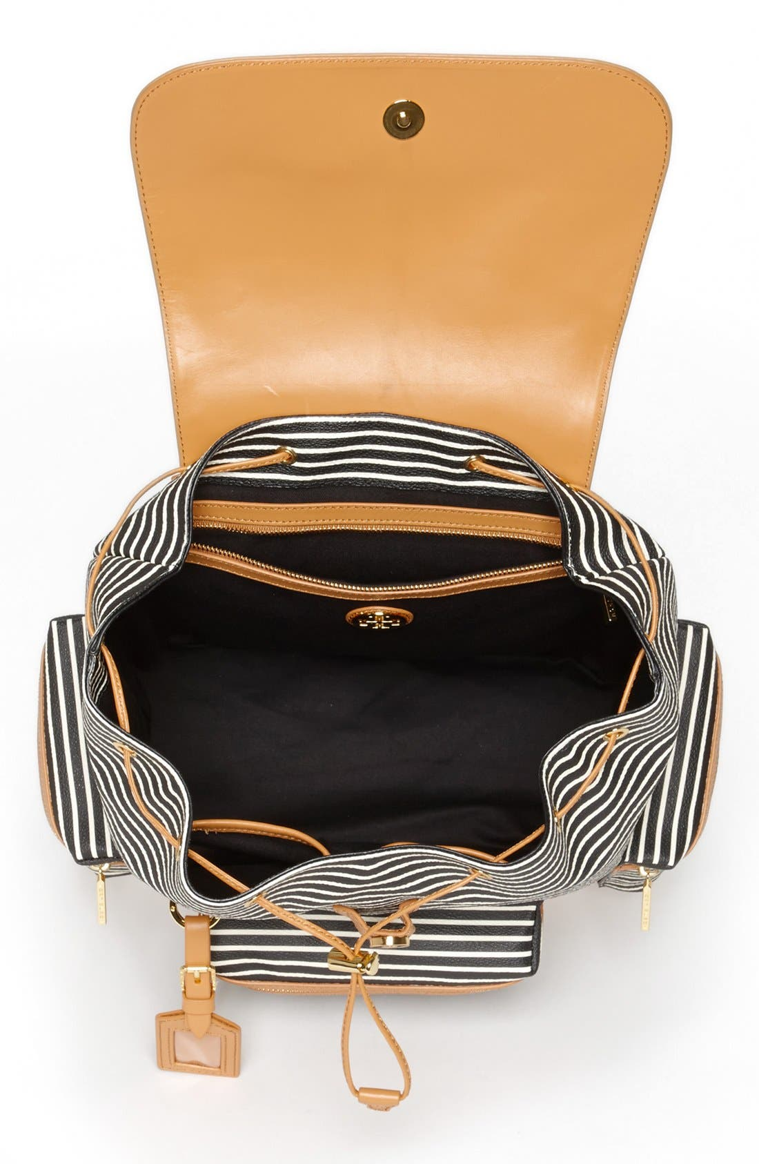 Alternate Image 3  - Tory Burch 'Viva' Canvas & Leather Backpack