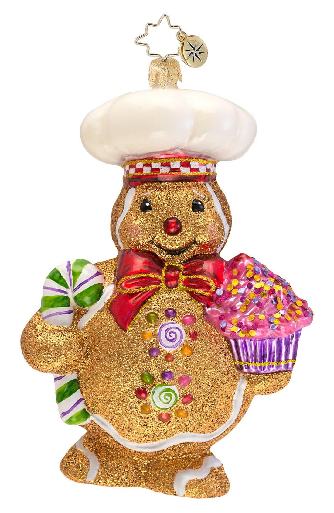 Main Image - Christopher Radko 'Ginger Baker' Ornament