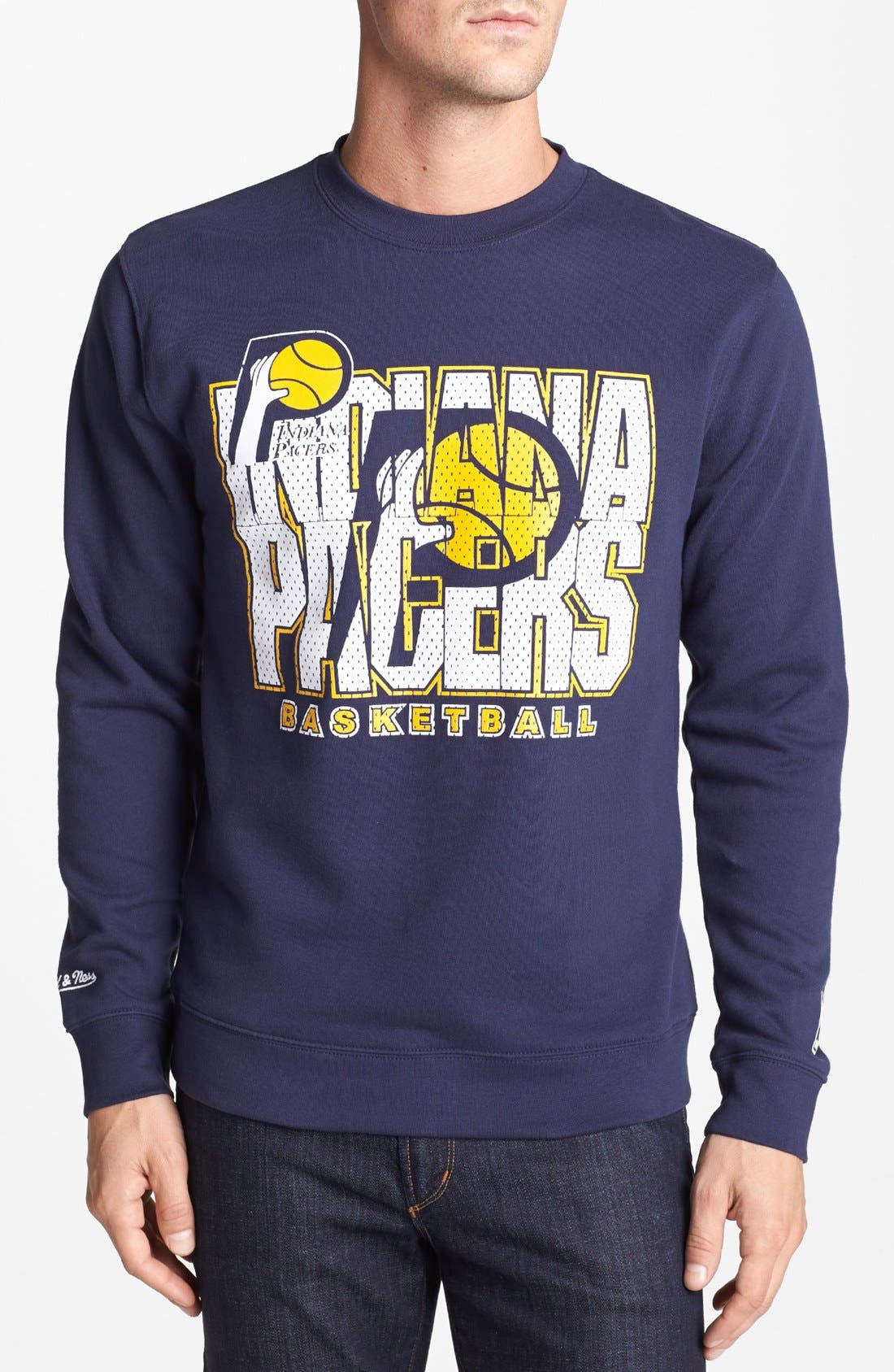 Alternate Image 1 Selected - Mitchell & Ness 'Indiana Pacers - Technical Foul' Sweatshirt