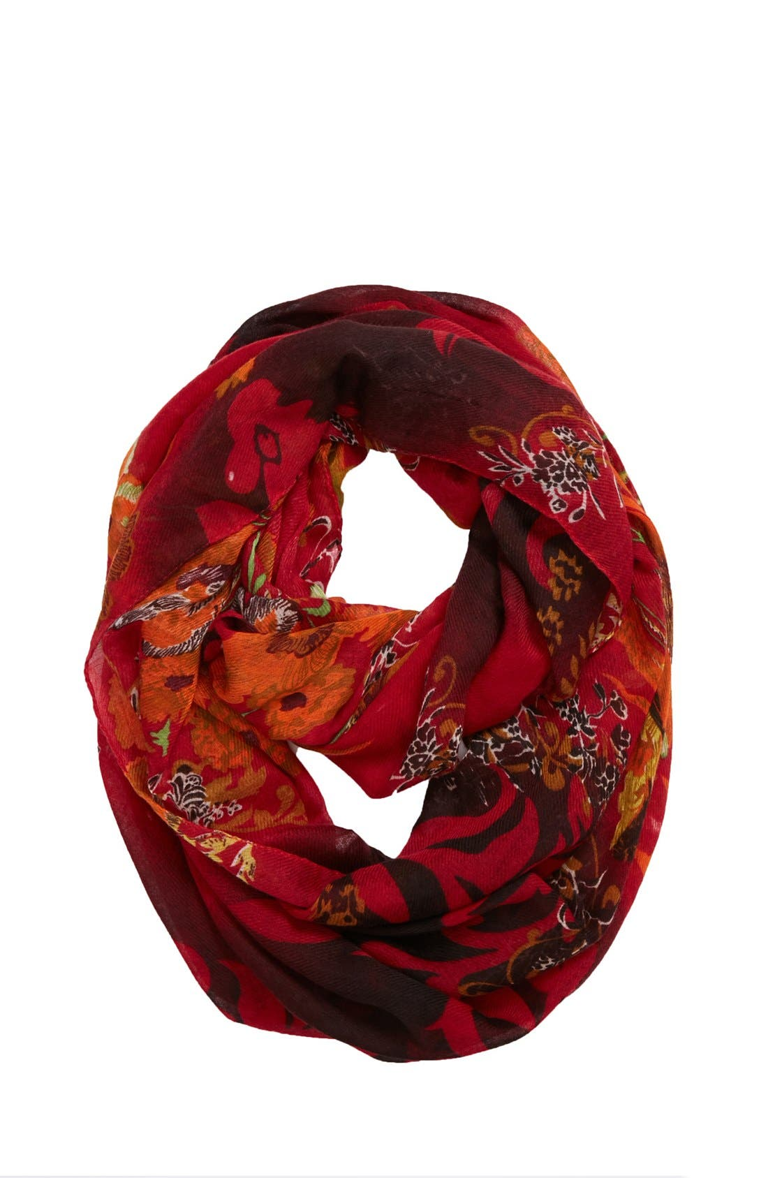Main Image - Tasha 'Ring of Flowers' Infinity Scarf