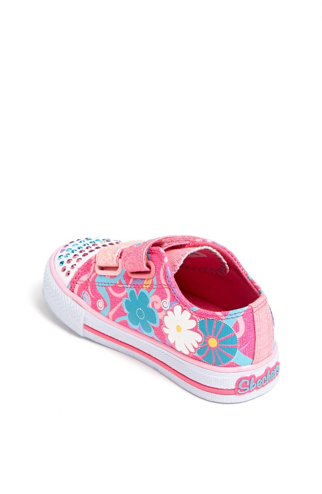 Alternate Image 2  - SKECHERS 'Twinkle Toes - Sweet Talk' Light-Up Sneaker (Walker & Toddler)