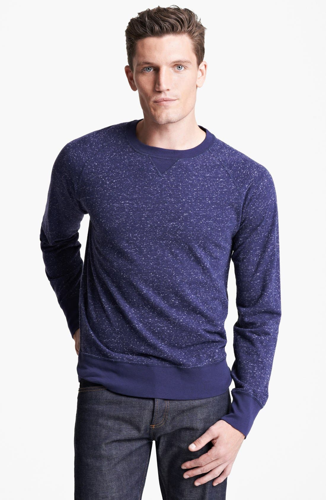 Main Image - Billy Reid' Martin' Crewneck Sweatshirt