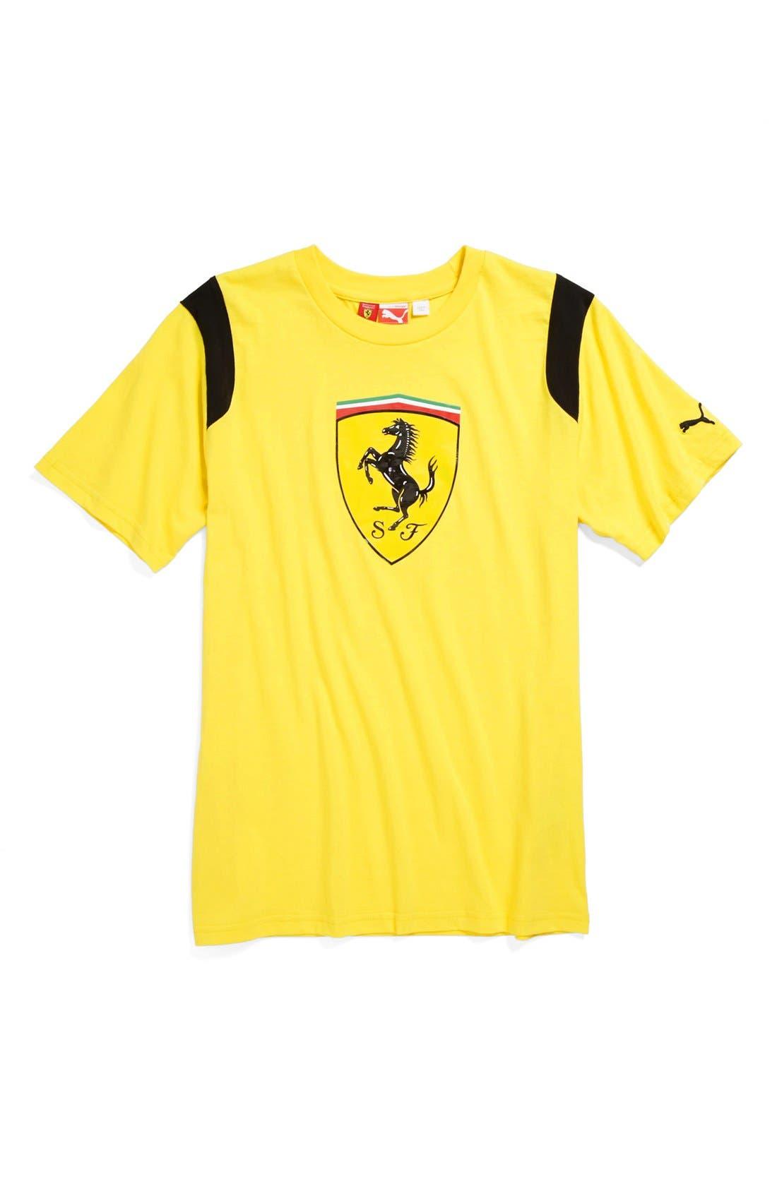 Main Image - PUMA 'Ferrari' Graphic T-Shirt (Big Boys)