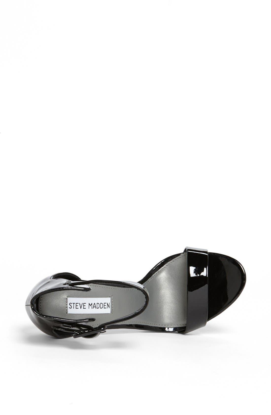 Alternate Image 3  - Steve Madden 'Madame' Black Patent Sandal