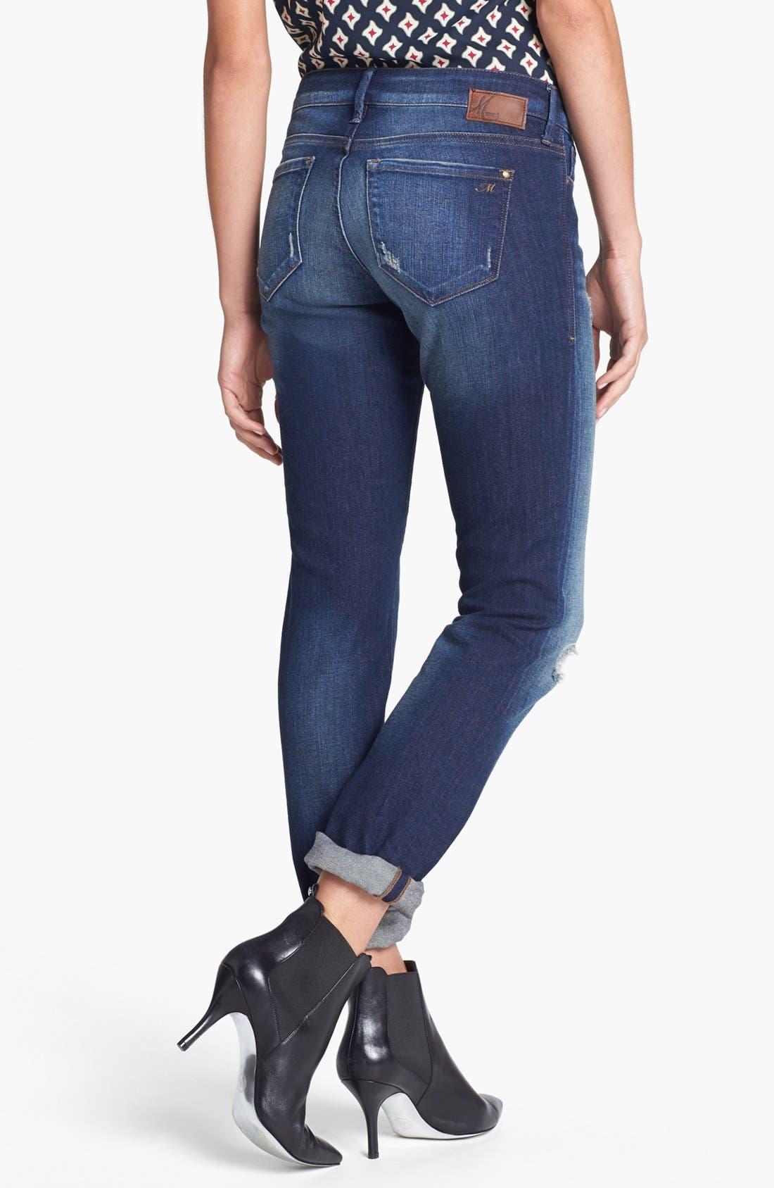 Alternate Image 2  - Mavi Jeans 'Emma' Slim Fit Boyfriend Jeans (Vintage)