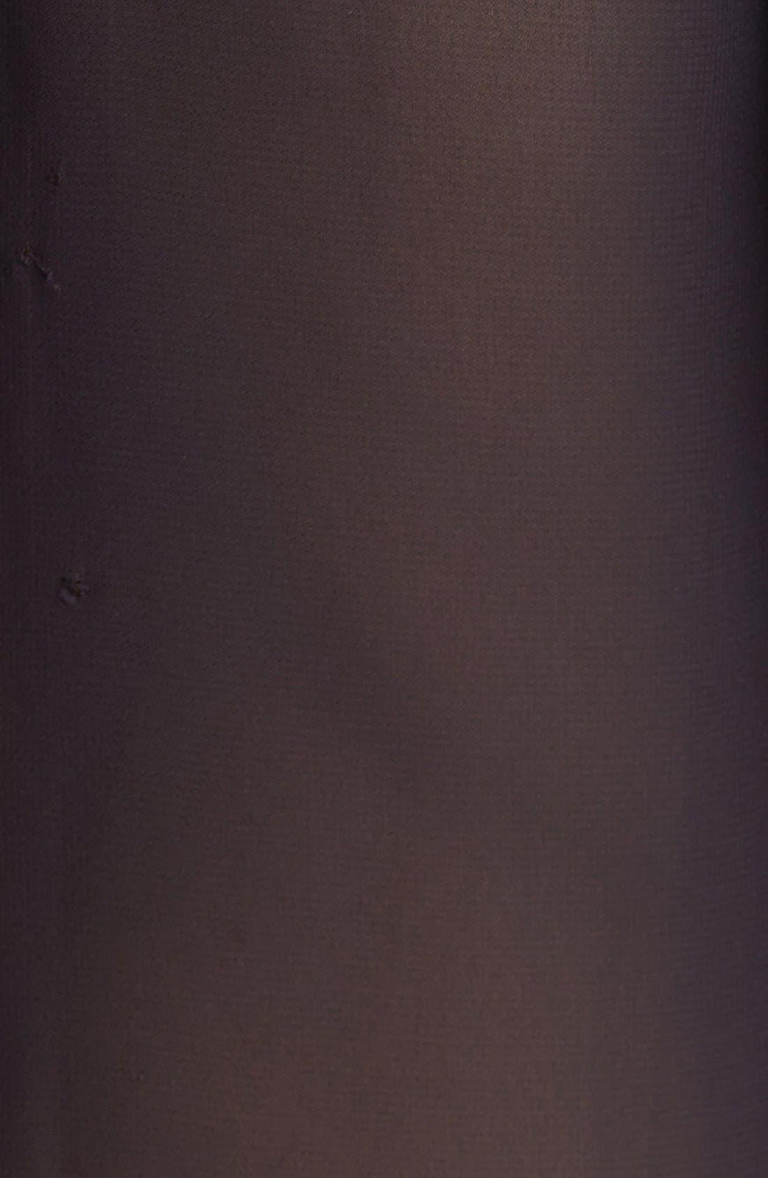Alternate Image 3  - Vince Camuto Chiffon Sleeve Mixed Media Tee