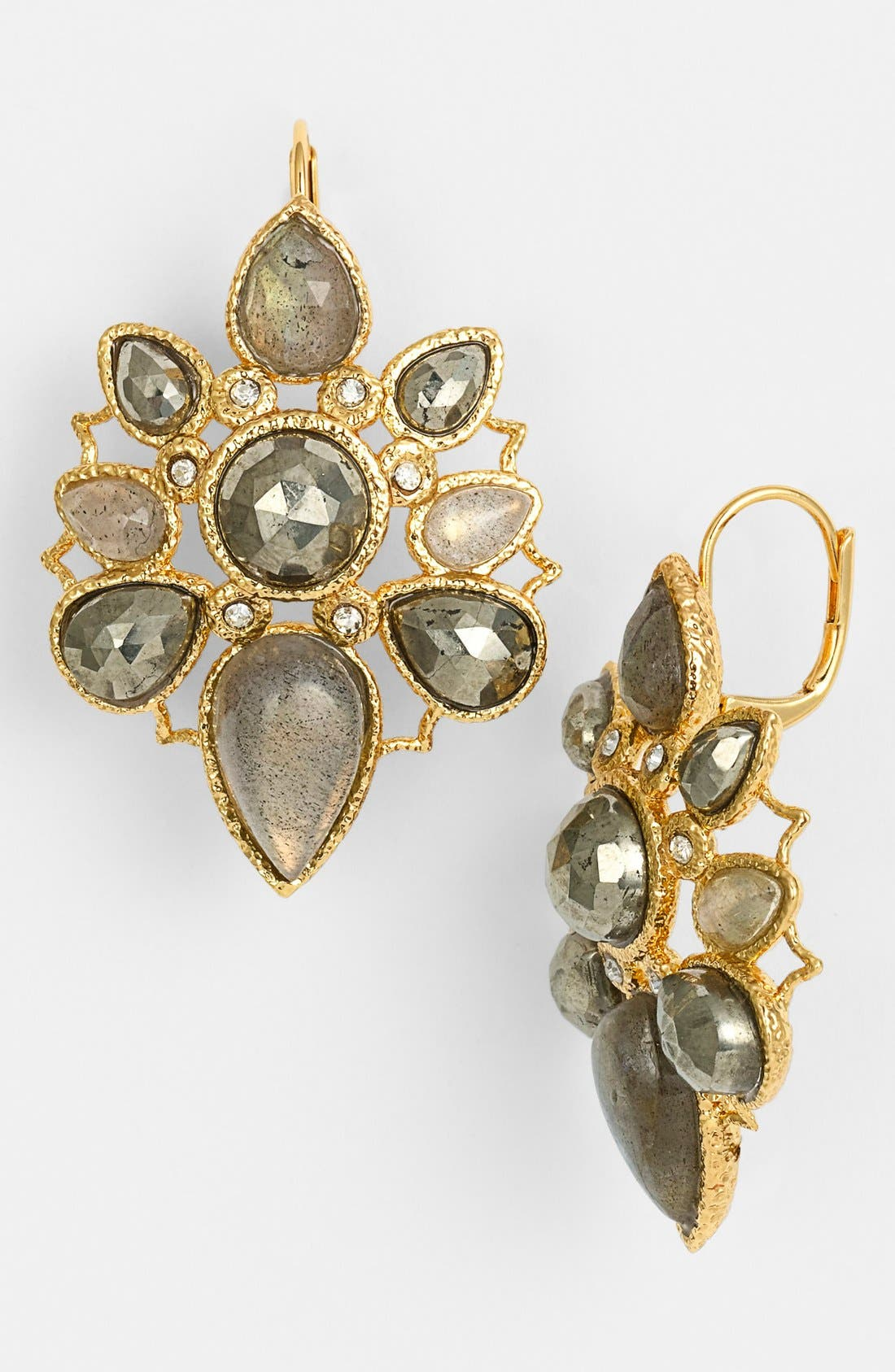 Alternate Image 1 Selected - Alexis Bittar 'Elements - Jardin de Papillon' Statement Earrings