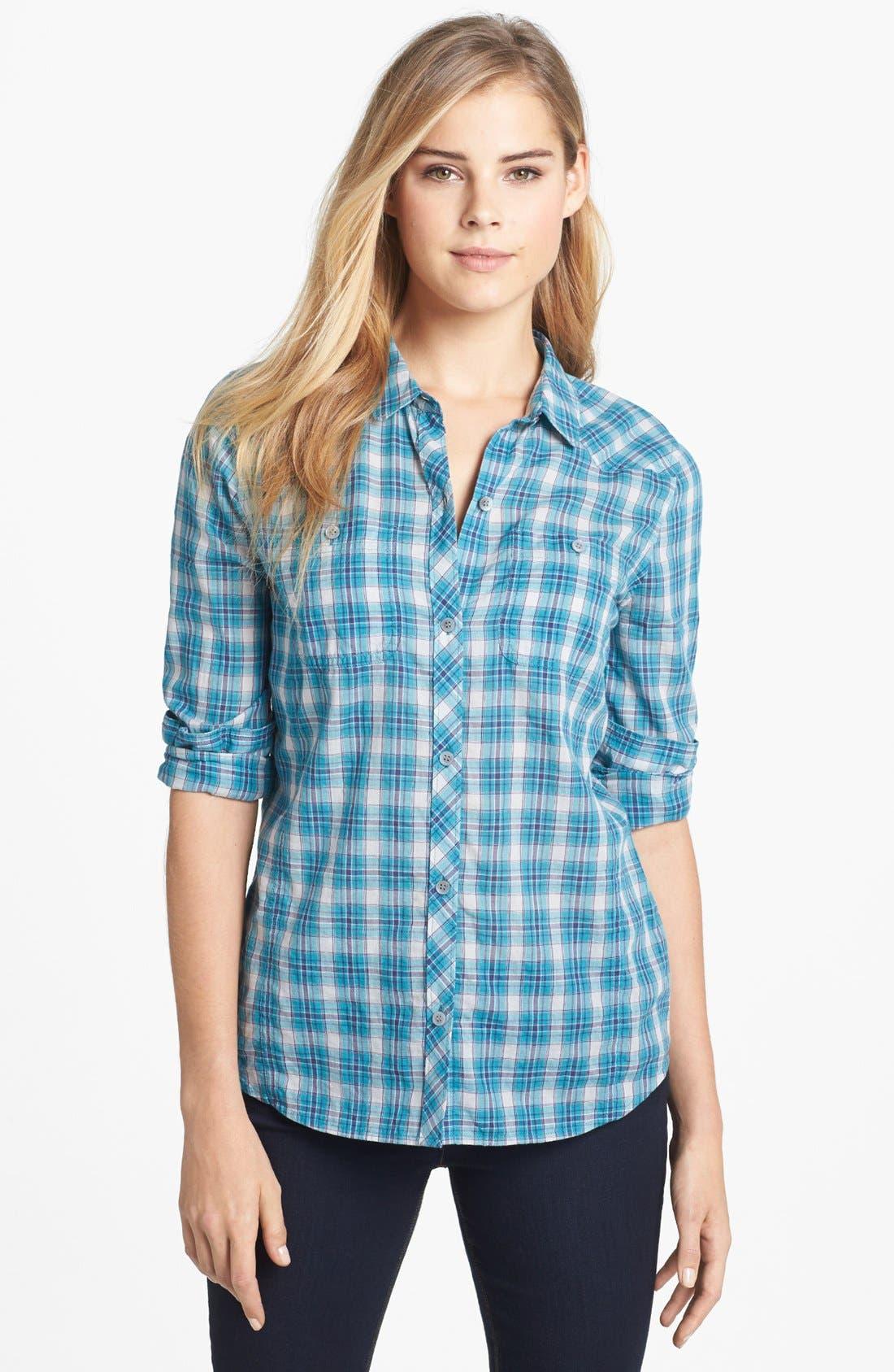 Main Image - Caslon® Two Pocket Shirt (Regular & Petite)
