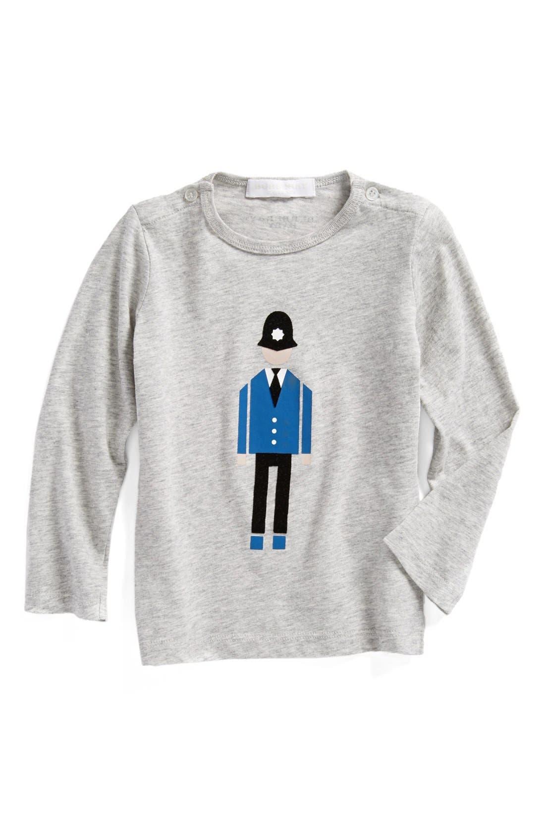Alternate Image 1 Selected - Burberry Long Sleeve T-Shirt (Toddler)