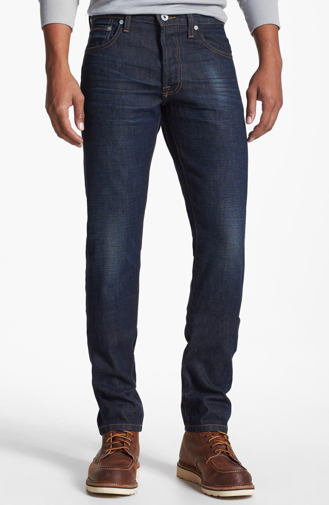 Alternate Image 2  - Baldwin 'Henley' Skinny Fit Jeans (Daniel)
