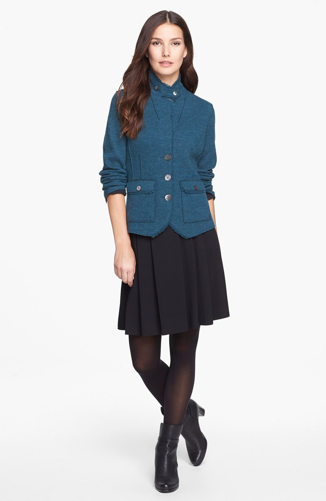 Alternate Image 3  - Eileen Fisher Pleated Skirt (Regular & Petite)