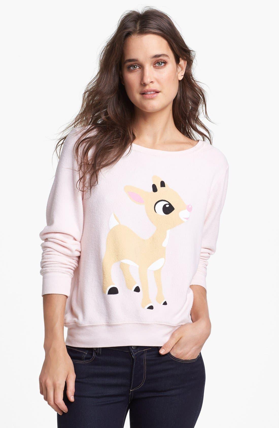 Alternate Image 1 Selected - Wildfox 'Little Helper' Vintage Sweater