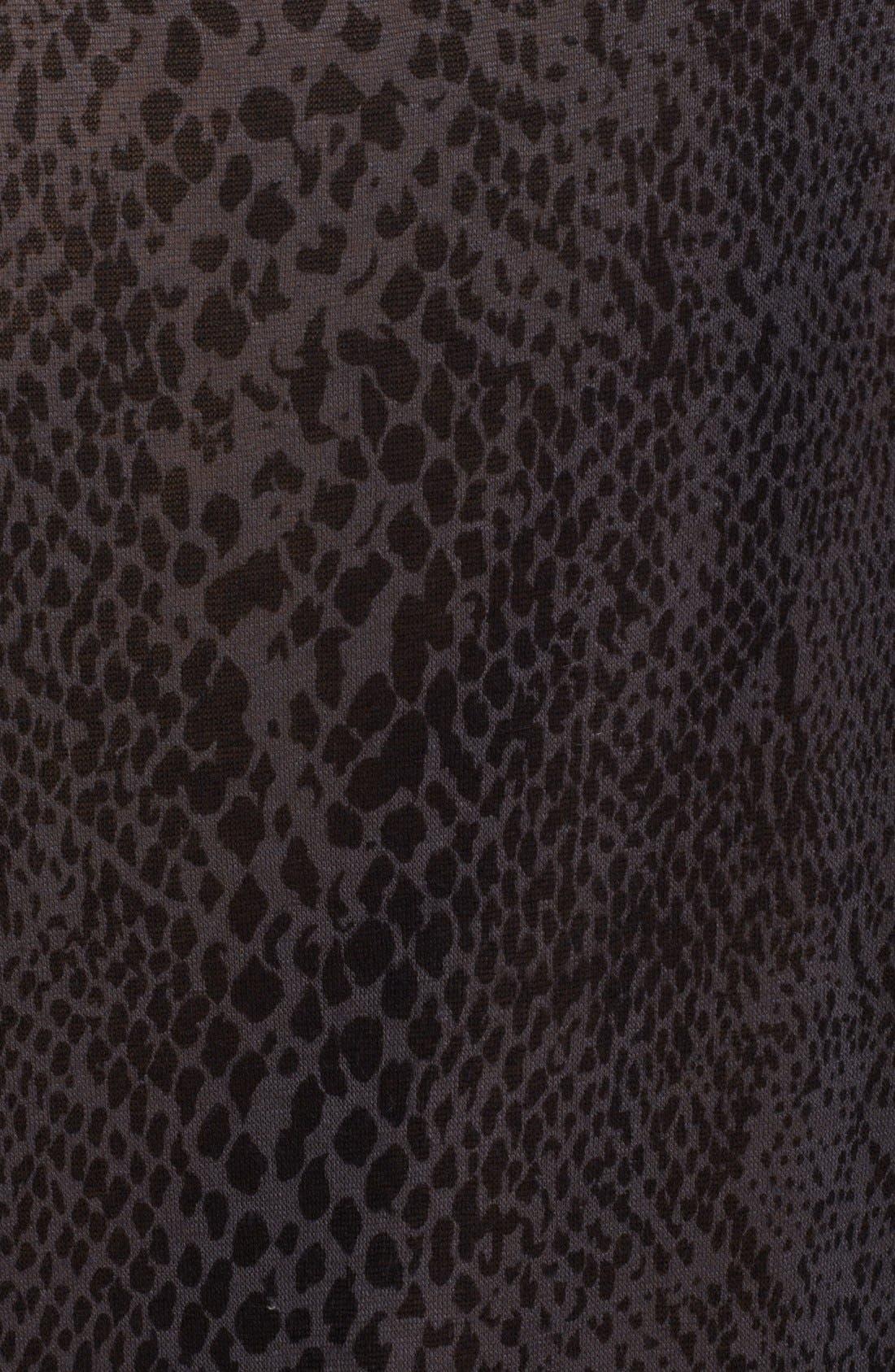 Alternate Image 3  - Whetherly 'Allen II' Snake Print Jersey Tee