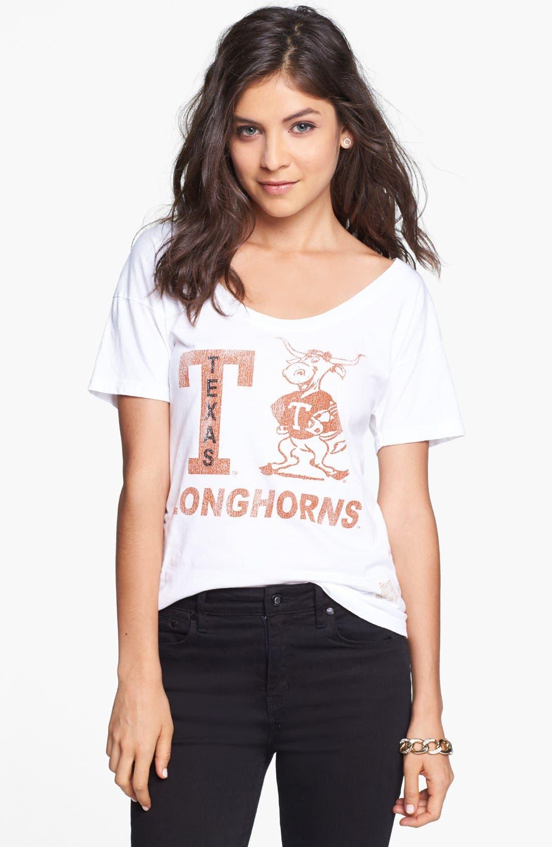 Main Image - Retro Brand 'University of Texas Longhorns' Graphic Tee (Juniors)