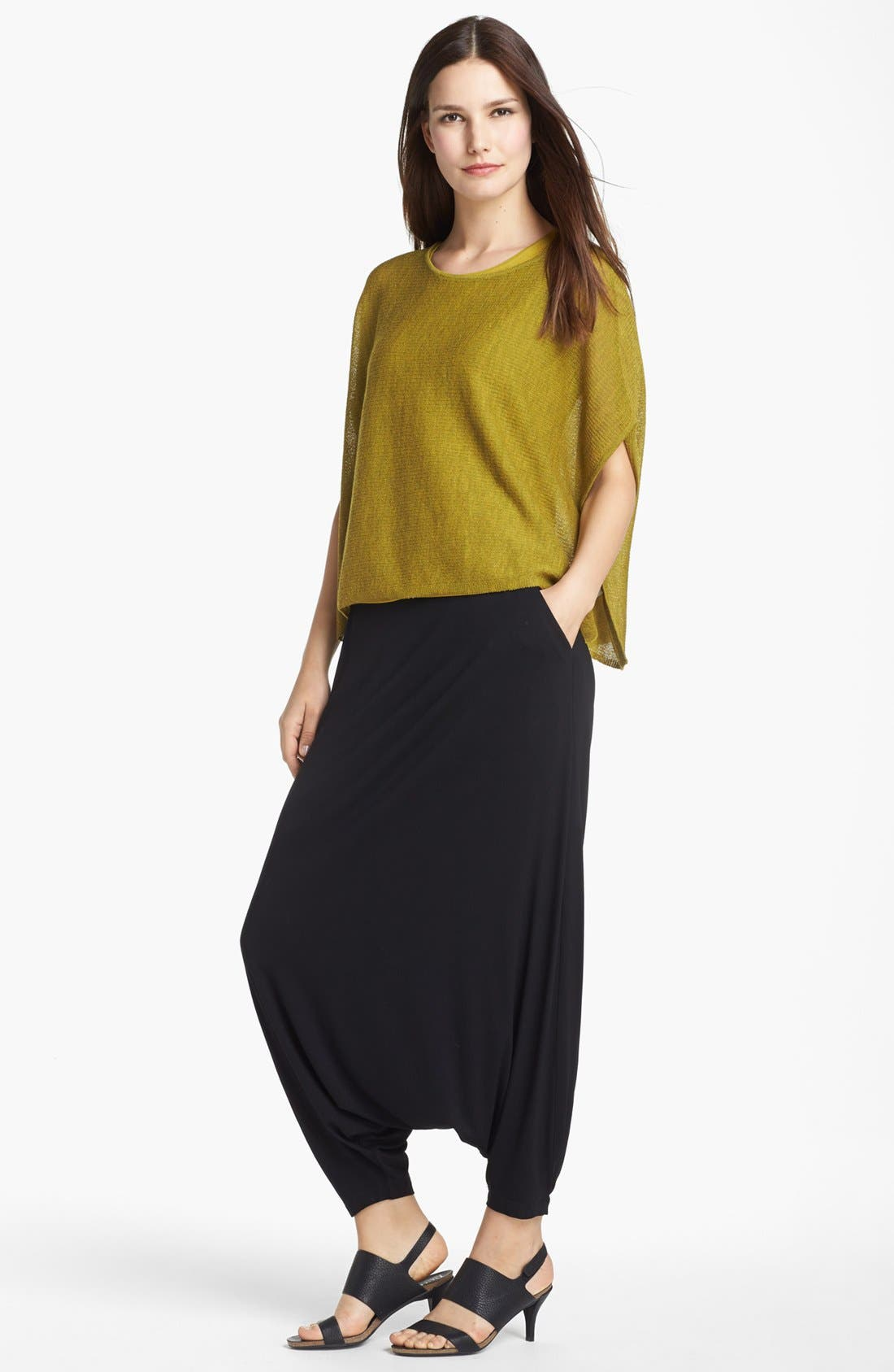Main Image - Eileen Fisher 'Ethereal Wool' Short Poncho Top (Petite)