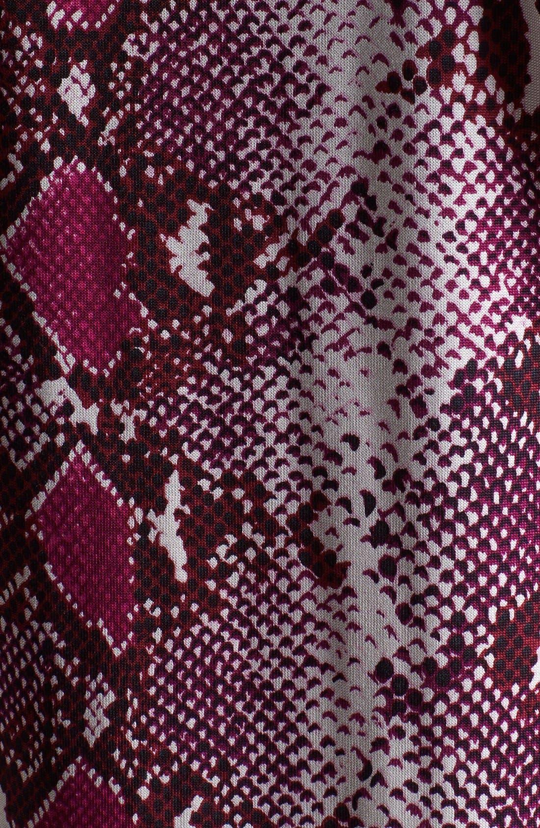 Alternate Image 3  - Diane von Furstenberg 'Reina' Snake Print Silk Shift Dress