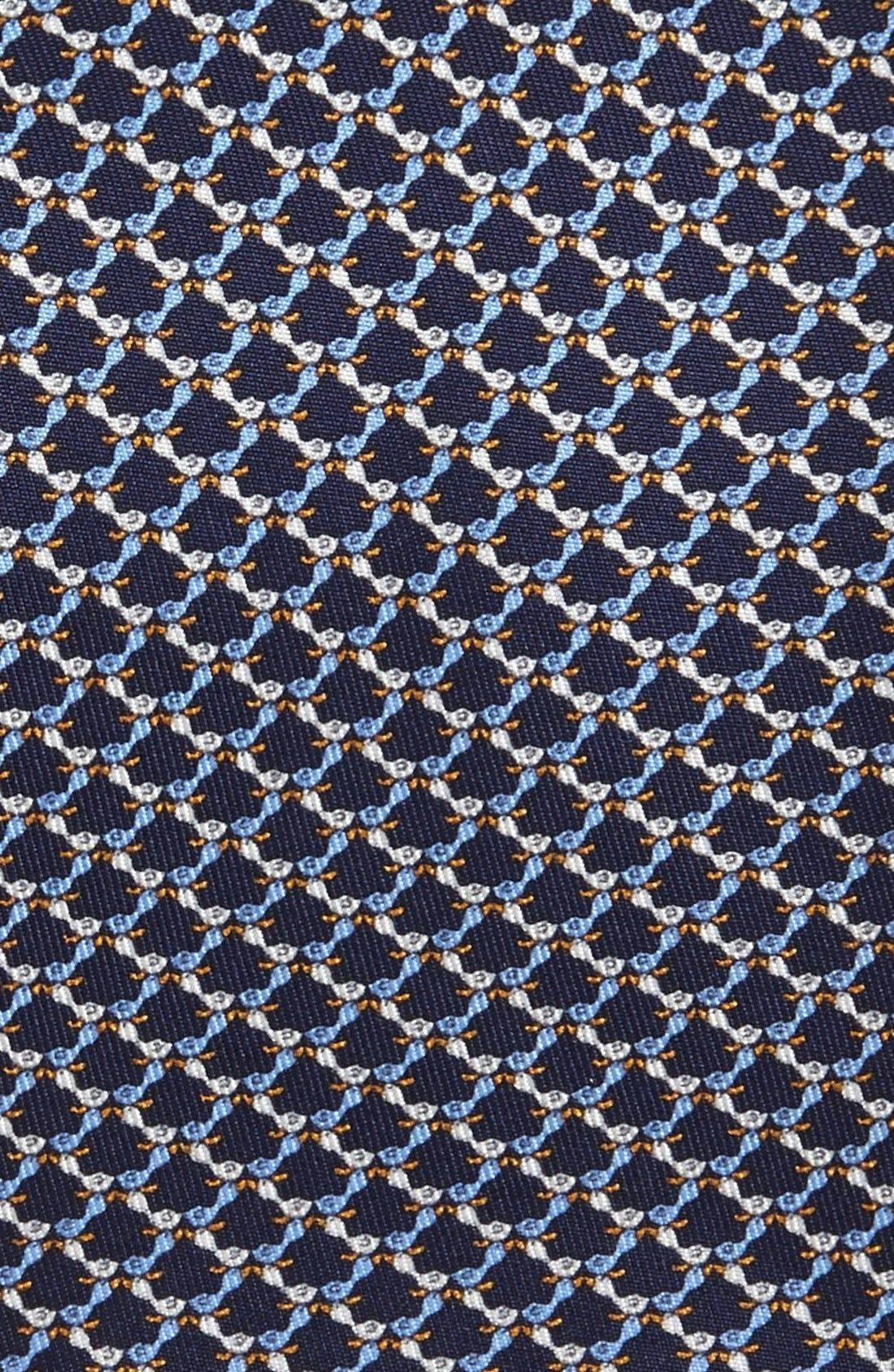 Alternate Image 2  - Salvatore Ferragamo Bird Motif Silk Tie