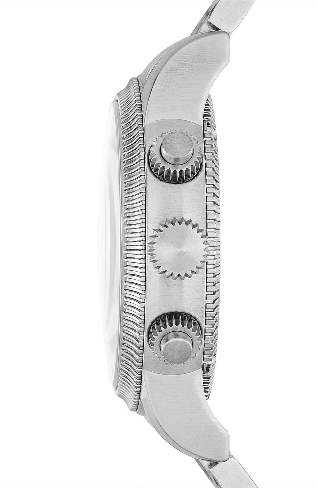 Alternate Image 3  - Burberry Round Chronograph Bracelet Watch, 42mm