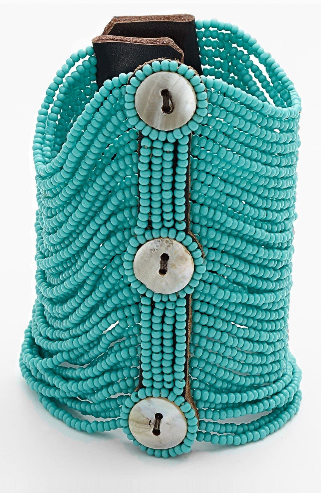 Alternate Image 1 Selected - Me to We Artisans 'Pamoja' Beaded Bracelet (Juniors)