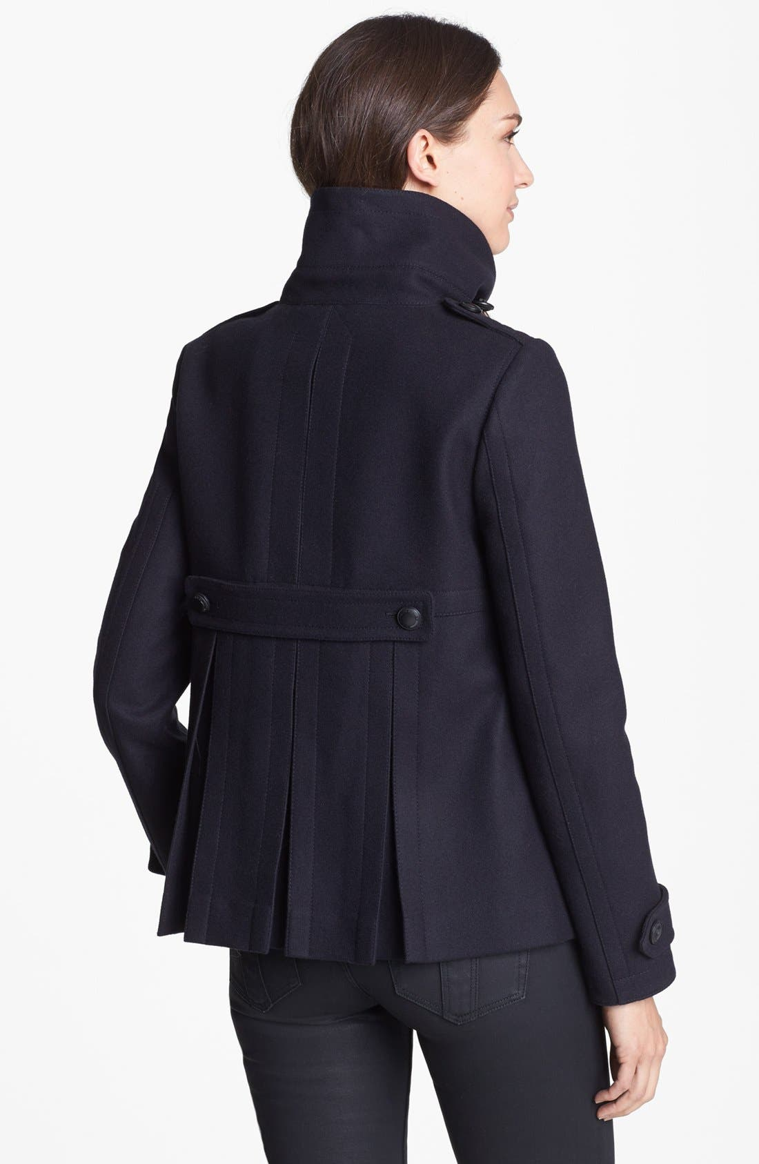 Alternate Image 2  - Burberry Brit 'Hullsbury' Peacoat