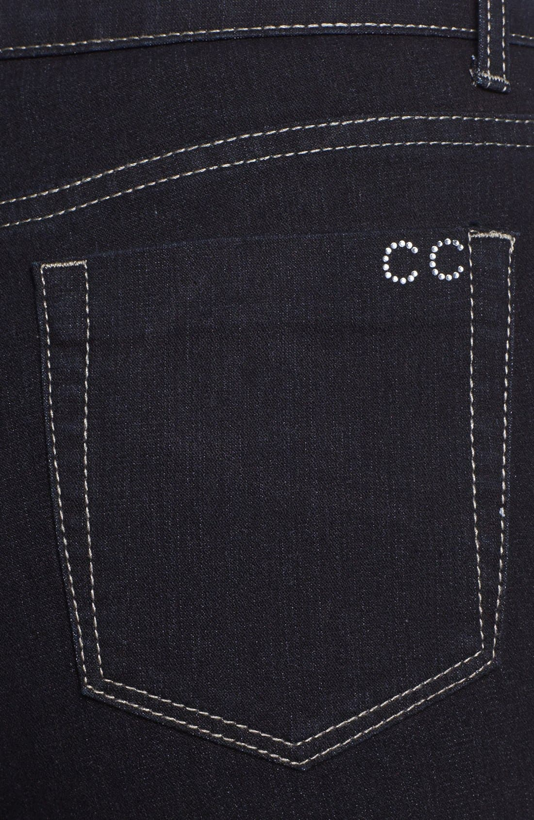 Alternate Image 3  - City Chic 'Glam' Bootcut Stretch Jeans (Plus Size)