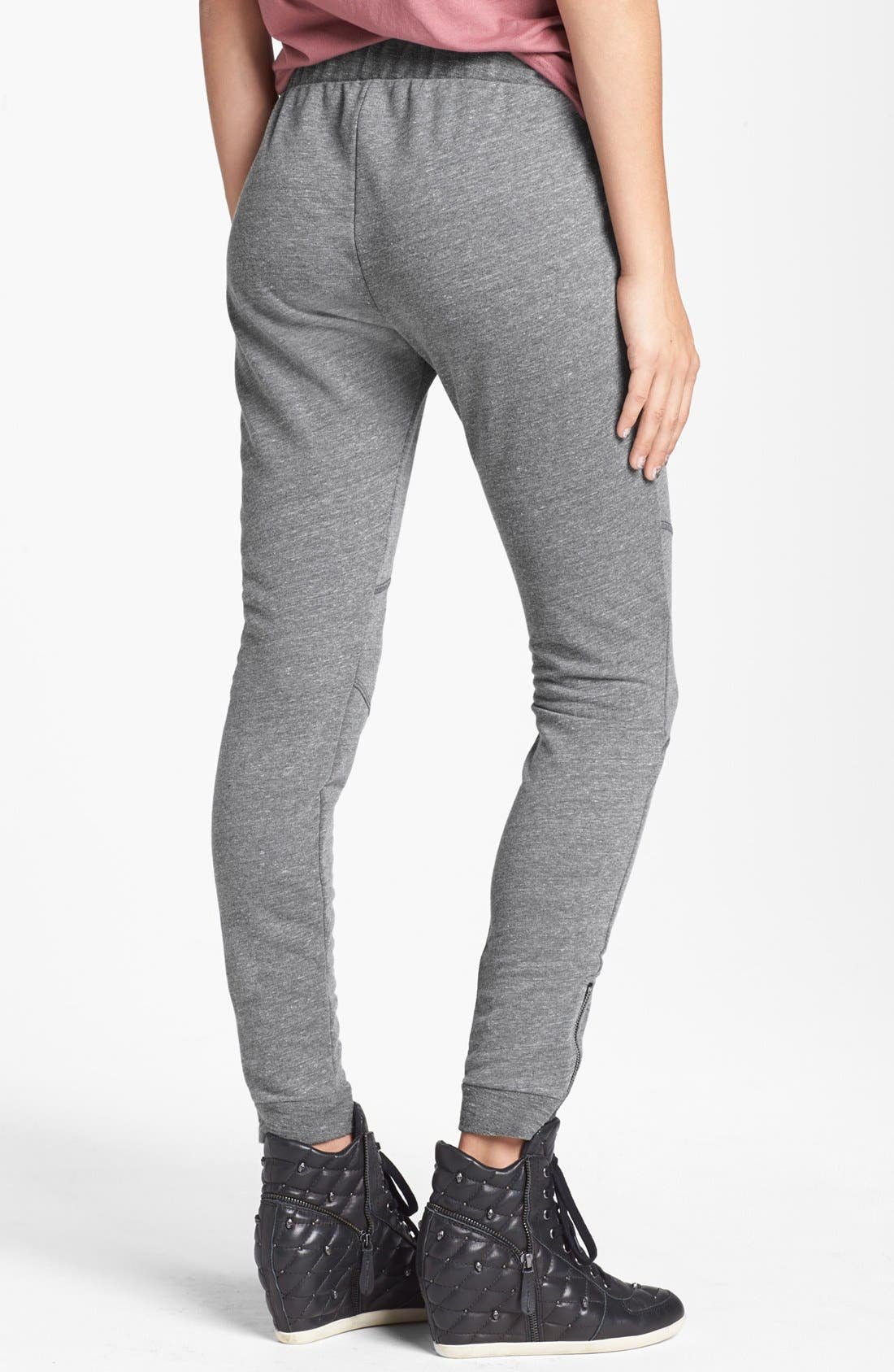 Alternate Image 2  - Lily White Slouchy Knit Pants (Juniors)