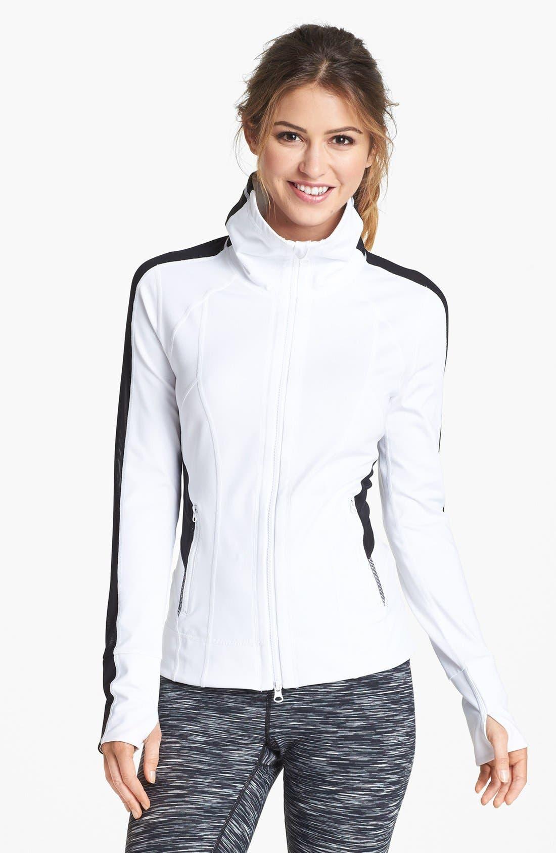 Alternate Image 1 Selected - Zella 'Bliss' Colorblock Jacket
