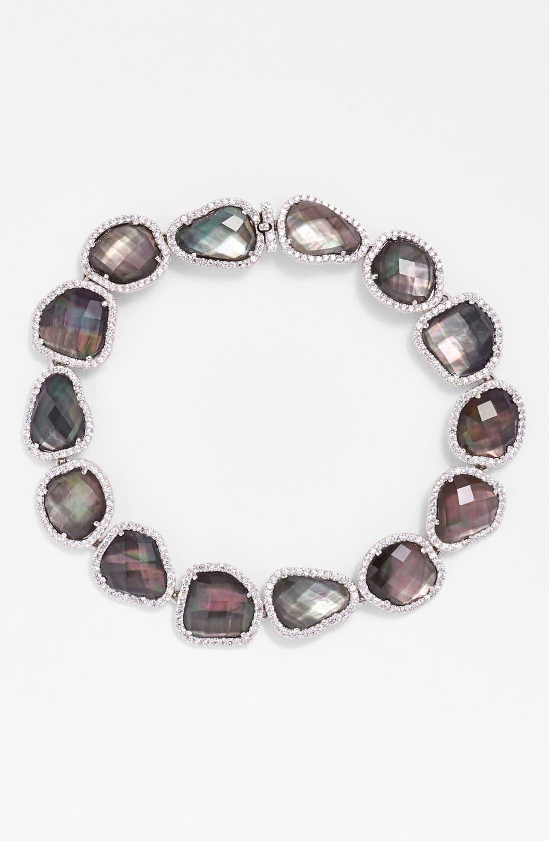 Alternate Image 1 Selected - Nadri Doublet Line Bracelet
